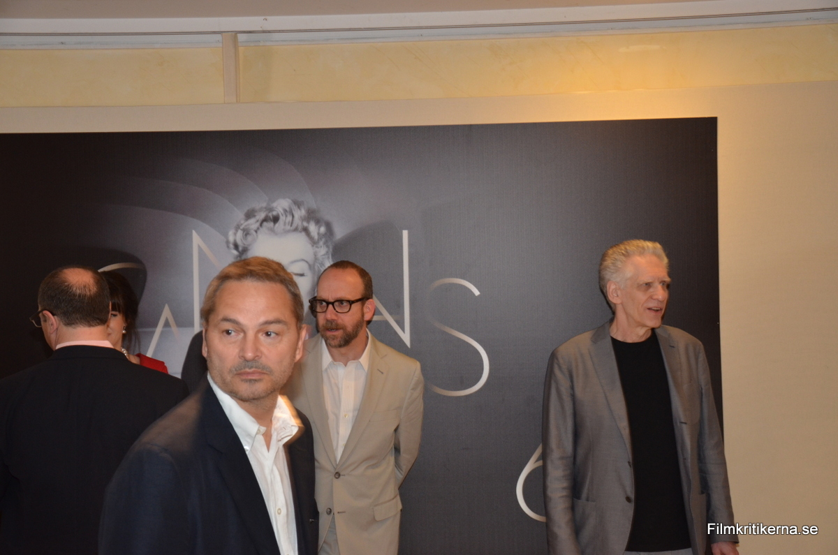 Paul Giamatti & David Cronenberg 01