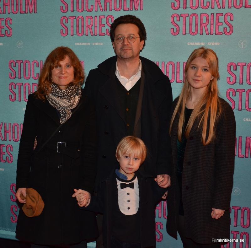 Martina Stöhr med familj