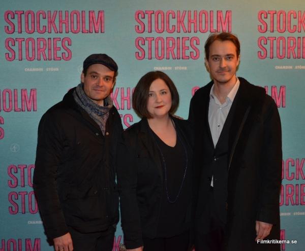 David Dencik, Hanna Holmquist Karlsson och Jonas Karlsson