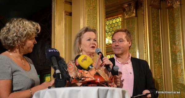 Anna Serner, Sissela Kyle & Jan Göransson