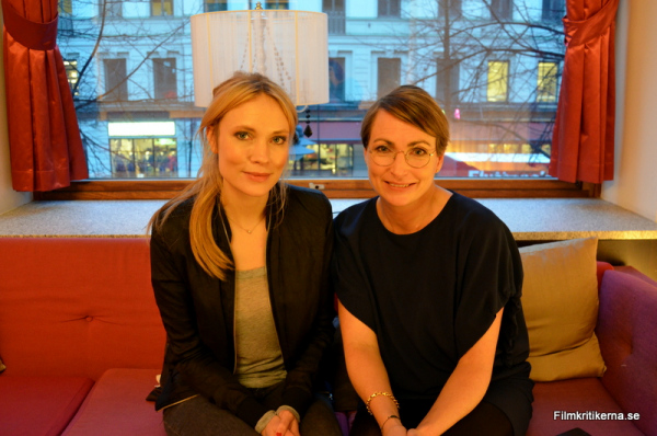 Moa Gammel och Kristina Kjellin