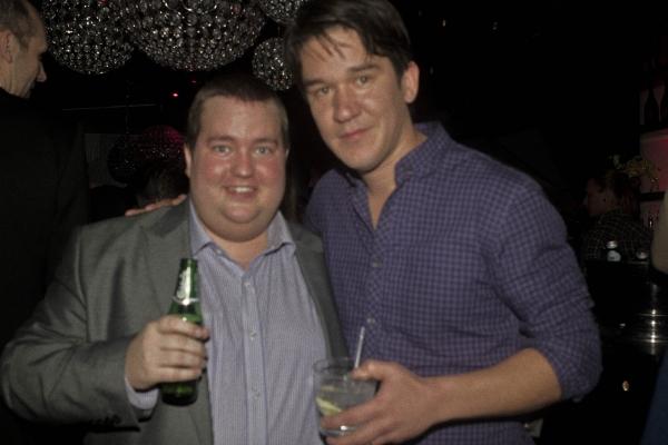 Erik Fellman och Daniel Espinosa Foto: Calle Anderson