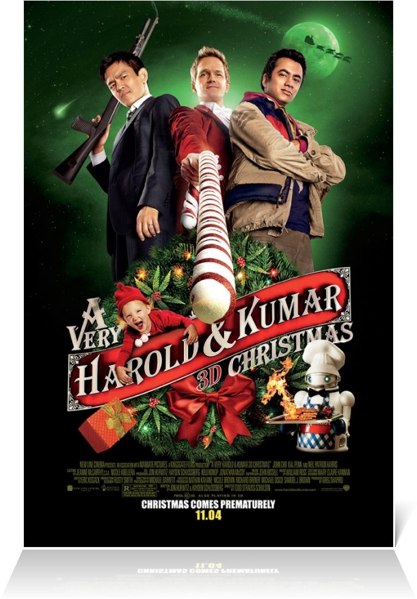 A Very Harold and Kumar 3D Christmas - Alchetron, the free social ...